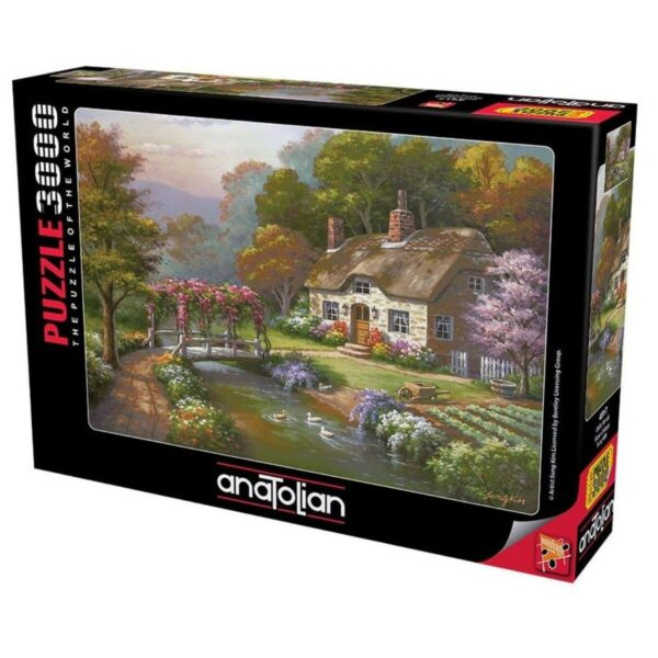 Anatolian - Къщата с розите - 3000 части - кутия