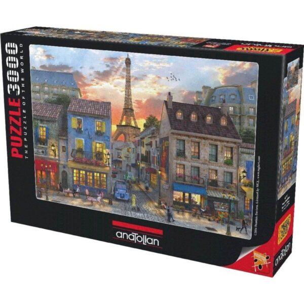 Anatolian - Улиците на Париж - 3000 части - кутия