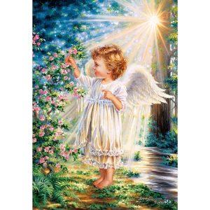 Castorland - Ангелско докосване - 1000 части - картина