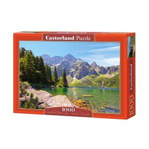 Castorland - Езеро Морското око - Татрите, Полша - 1000 части - кутия