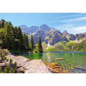 Castorland - Езеро Морското око - Татрите, Полша - 1000 части - картина