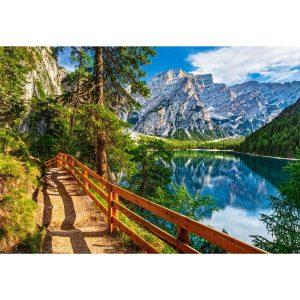 Castorland - Езерото Брайес, Италия - 1000 части - картина