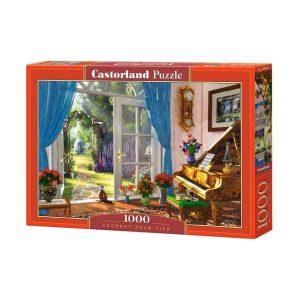 Castorland - Гледка към градината - 1000 части - кутия