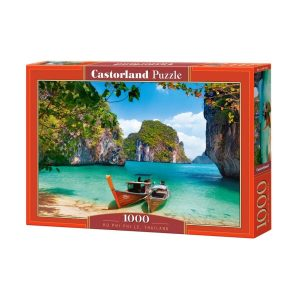 Castorland - Ко Пи Пи Лей, Тайланд- 1000 части - кутия