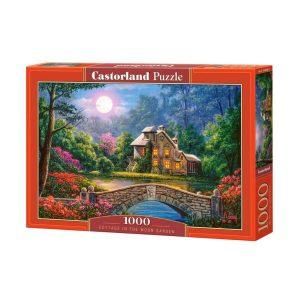 Castorland - Къщичка в лунната градина- 1000 части - кутия