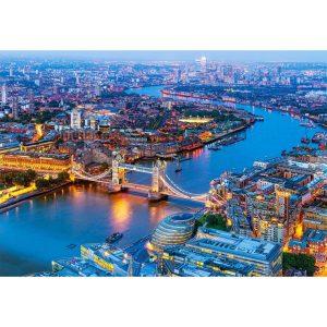 Castorland - Лондон от птичи поглед - 1000 части - картина