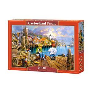 Castorland - На пристанището- 1000 части - кутия