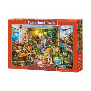 Castorland - Нашествие в стаята - 1000 части - кутия