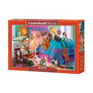 Castorland - Палави кученца - 1000 части - кутия