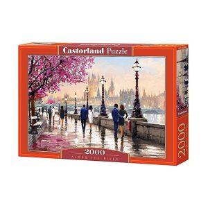 Castorland - Покрай реката - 2000 части - кутия