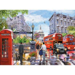 Castorland - Пролет в Лондон - 2000 части - картина