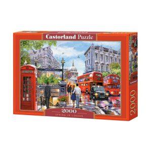Castorland - Пролет в Лондон - 2000 части - кутия
