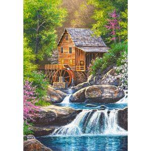 Castorland - Пролетна мелница - 1000 части - картина