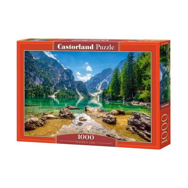 Castorland - Райско езеро - 1000 части - кутия
