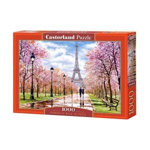 Castorland - Романтична разходка в Париж - 1000 части - кутия