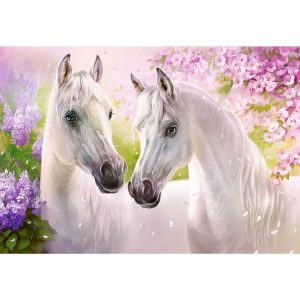 Castorland - Романтика между коне - 1000 части - картина