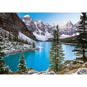 Castorland - Скалисти планини в Канада - 1000 части - картина