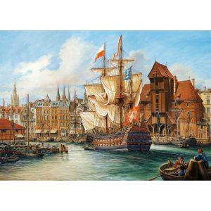 Castorland - Старият Гданск - 1000 части - картина