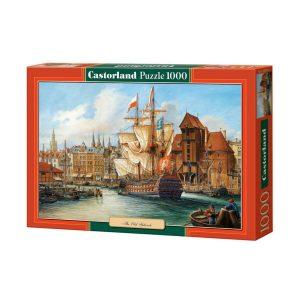 Castorland - Старият Гданск - 1000 части - кутия