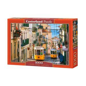 Castorland - Трамваи в Лисабон, Португалия - 1000 части - кутия