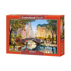 Castorland - Вечерна разходка из Сентръл парк - 1000 части - кутия