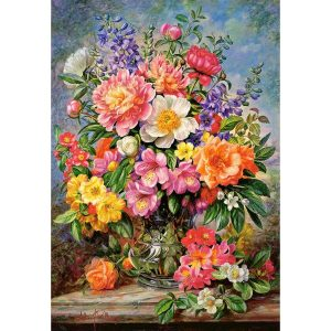 Castorland - Юнски цветя - 1000 части - картина