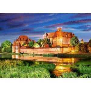 Castorland - Замъкът Малборк, Полша - 1000 части - картина