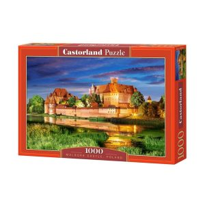 Castorland - Замъкът Малборк, Полша - 1000 части - кутия