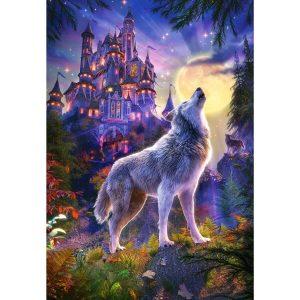Castorland - Замъкът на вълците- 1000 части - картина