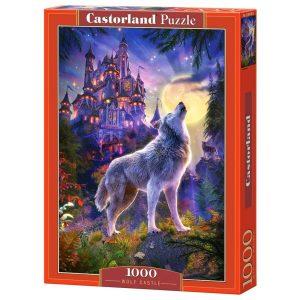 Castorland - Замъкът на вълците- 1000 части - кутия