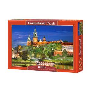 Castorland - Замъкът Вавел през нощта, Полша - 1000 части - кутия
