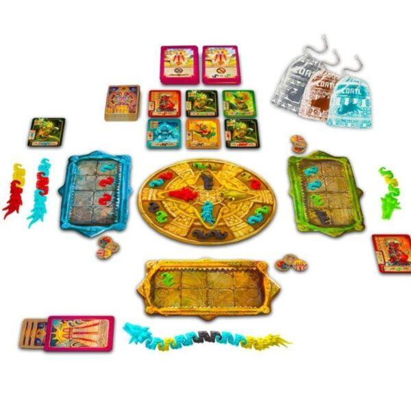 Коатъл - Семейна на столна игра - компоненти