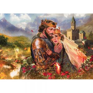 Пъзел Последната целувка на цар Иван Шишман - 1000 части