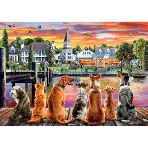 Кучета на кея - Български пъзел - 1000 части