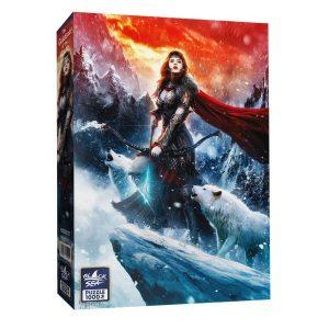 Black Sea Puzzles - Богинята на Севера - Български пъзел - 1000 части - кутия