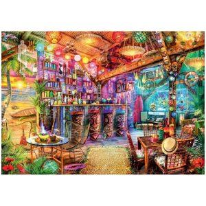Black Sea Puzzles - Екзотичен бар - Български пъзел - 1000 части - картина