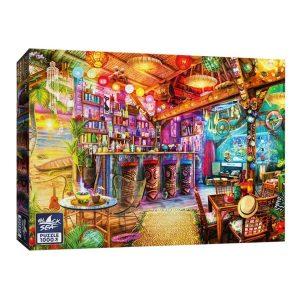 Black Sea Puzzles - Екзотичен бар - Български пъзел - 1000 части - кутия