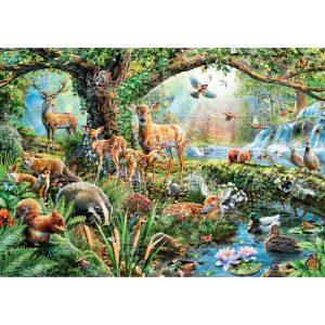 Black Sea Puzzles - Горски създания - Български пъзел - 1000 части - картина
