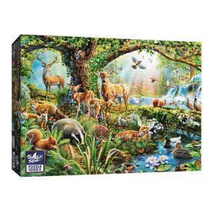 Black Sea Puzzles - Горски създания - Български пъзел - 1000 части - кутия