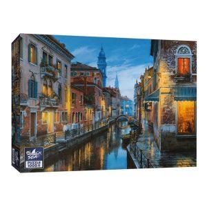 Black Sea Puzzles - Маса за един - Български пъзел - 1000 части - кутия