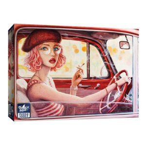 Black Sea Puzzles - Розово момиче - Български пъзел - 1000 части - кутия