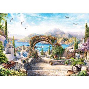 Black Sea Puzzles - Слънчева Гърция - Български пъзел - 1000 части - картина