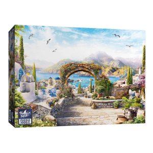 Black Sea Puzzles - Слънчева Гърция - Български пъзел - 1000 части - кутия