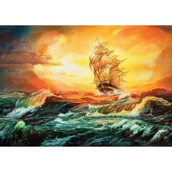 Black Sea Puzzles - В окото на бурята - Български пъзел - 1000 части - картина