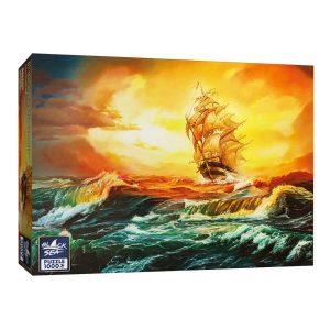 Black Sea Puzzles - В окото на бурята - Български пъзел - 1000 части - кутия