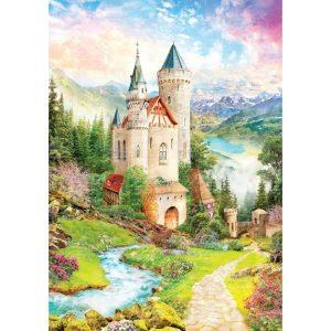 Black Sea Puzzles - Замъкът на фантазиите - Български пъзел - 1000 части - картина