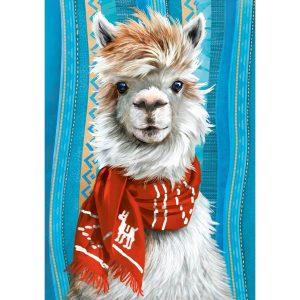 Castorland - Аз съм ламата - 500 части - картина