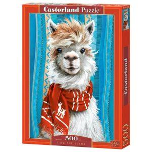 Castorland - Аз съм ламата - 500 части - кутия
