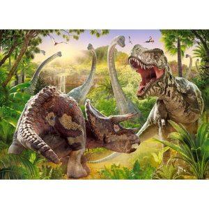 Castorland - Битка с динозаври - 180 части - картина