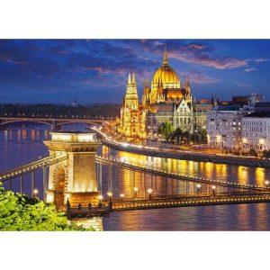Castorland - Будапеща през нощта - 2000 части - картина